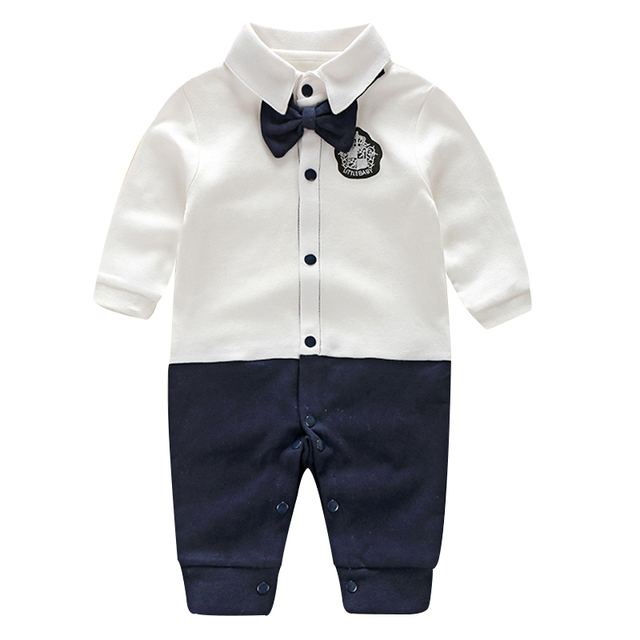 29dd20833bd4 Toddler Baby Rompers Autumn Roupas Infant Jumpsuits Boy Clothing ...