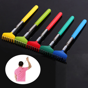Image 1 - New Adjustable Extendable Back Scratcher Stainless Steel Telescopic Anti Itch Flexible Claw Backscratcher DC88