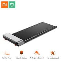 Оригинальный Xiaomi Mijia Smart WalkingPad складной нескользящий спортивный беговая дорожка Беговая прогулочная машина тренажерный зал Electricl фитнес об