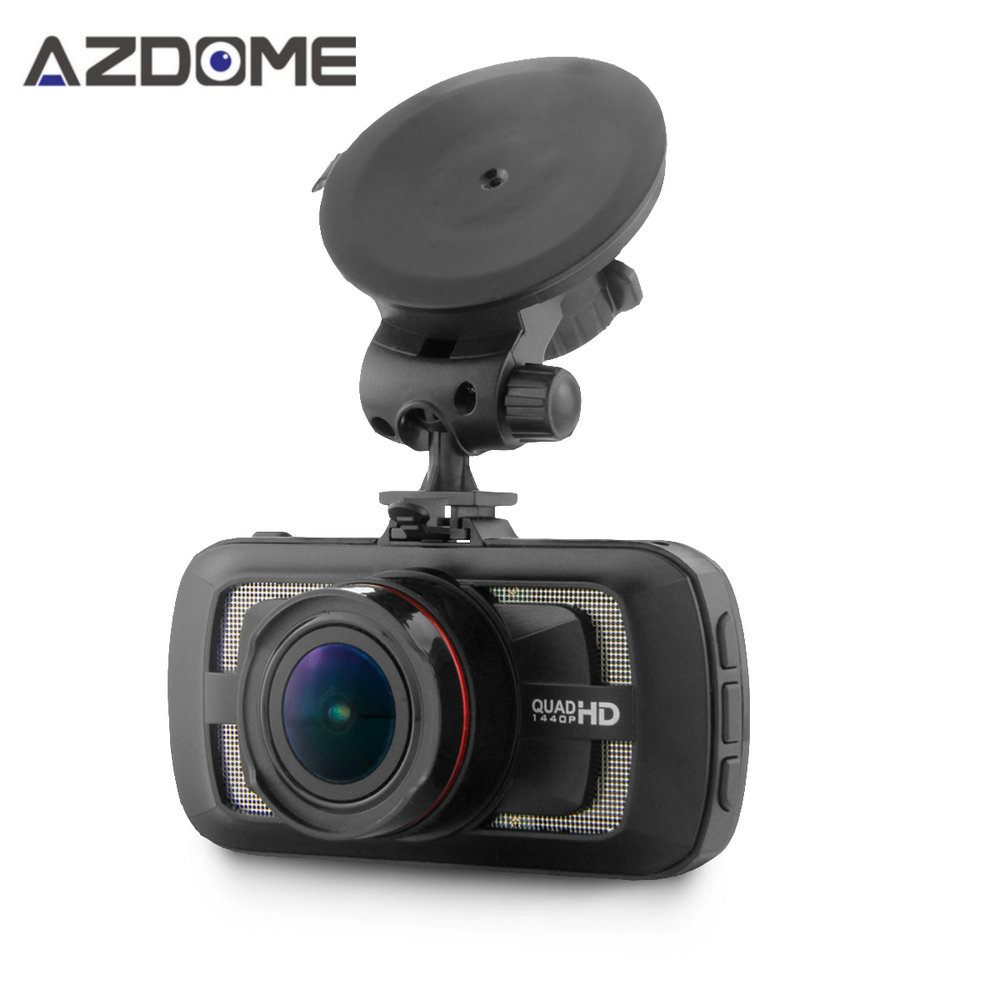 DAB205 Car DVR Camera Ambarella A12 Chip HD 1440p 30fps Video Recorder With G-sensor HDR ADAS Cycle Recording Dash Cam Azdome