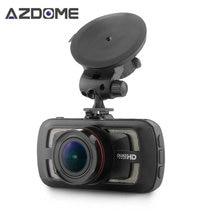 DAB205 Видеорегистраторы для автомобилей Камера Ambarella A12 чип HD 1440 P 30fps видео Регистраторы с G-Датчик HDR ADAS цикл Запись регистраторы azdome