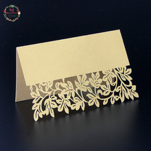 Big Heard Love 40pcs Flower Table Name Place Cards