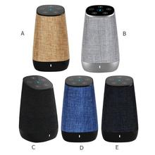 MXQ  2 in 1 USB Portable Wireless WiFi Smart Voice Control Bluetooth Speaker for DIDA Amazon Alexa Portable Audio Speaker