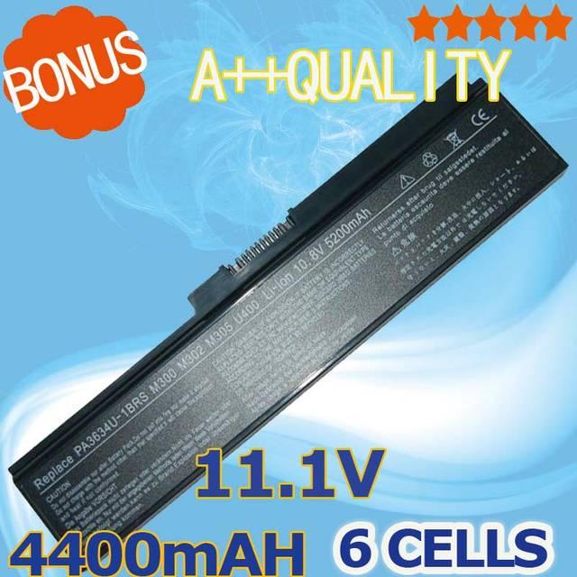 4400 mah batería para toshiba pa3634u pa3634u-1bas pa3634u-1brs pa3635u-1bam pa3635u-1brm pa3636u-1brl pa3638u-1bap pa3728u-1brs