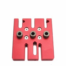 Woodworking Splicing board hole opener locator tenon hole Puncher with 6/8/10mm drill bushing woodworking tool