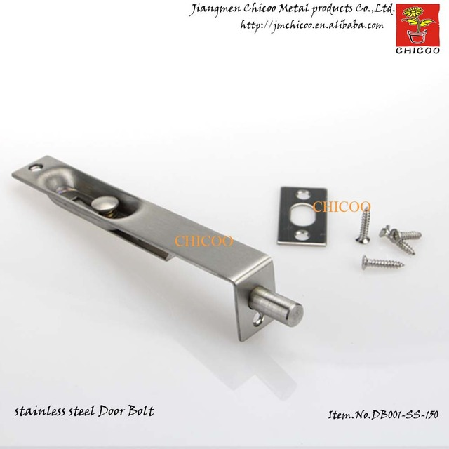 Whollesale 10 Pieces 6 Inch Flush Door Bolt Lever Action Slide Lock  Concealed Sliding Door Security
