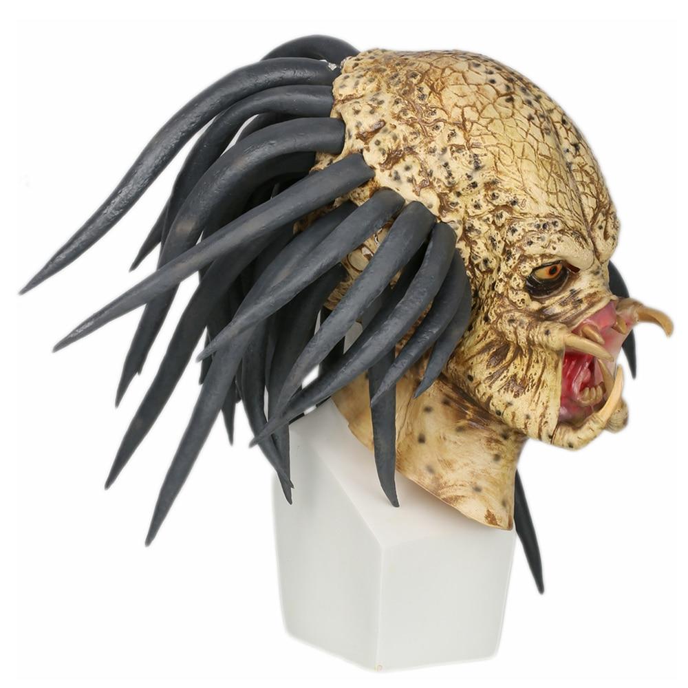 Alien Predator Mask Full Head Stylish Helmet Costume Props
