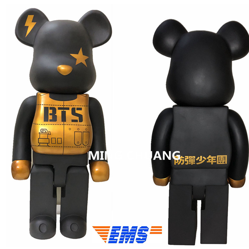 27Bearbrick Gloomy Kaws 1000% Be@rbrick Street Art Christmas Present Vinyl Action Figure Collectible Model Toy 70CM BOX Z4027Bearbrick Gloomy Kaws 1000% Be@rbrick Street Art Christmas Present Vinyl Action Figure Collectible Model Toy 70CM BOX Z40