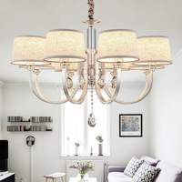 Modern Chandeliers Lighting Fabric Modern Chandelier Light Crystal Chandelier For Living Room Lamp chandeliers ceiling