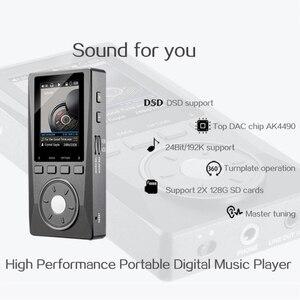 Image 2 - XDUOO X10 HIFI Hi Res Lossless DSD מוסיקה נגן AMP תמיכה אופטי פלט 24Bit/192Khz OPA1612 pk X3
