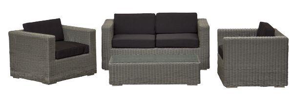 2017 Garden Outdoor Furniture Patio Rattan Conversation Sofa Set(China