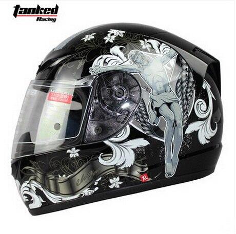 ФОТО  Tanked Racing design Jesus motorcycle Helmet  MOTO full face dirt biker motorbike motocross off road safety helmets black M XXL