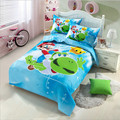 Free shipping New Arrived Hot bed linen 3pcs baby Bedding set include pillow case+bed sheet+duvet cover without filling