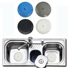 Bathroom Silicone Sink Plug Drain Hair Stopper Cover Filter Strainer Kitchen Shower Shield Wash Bowls Sinks Bath Tubs