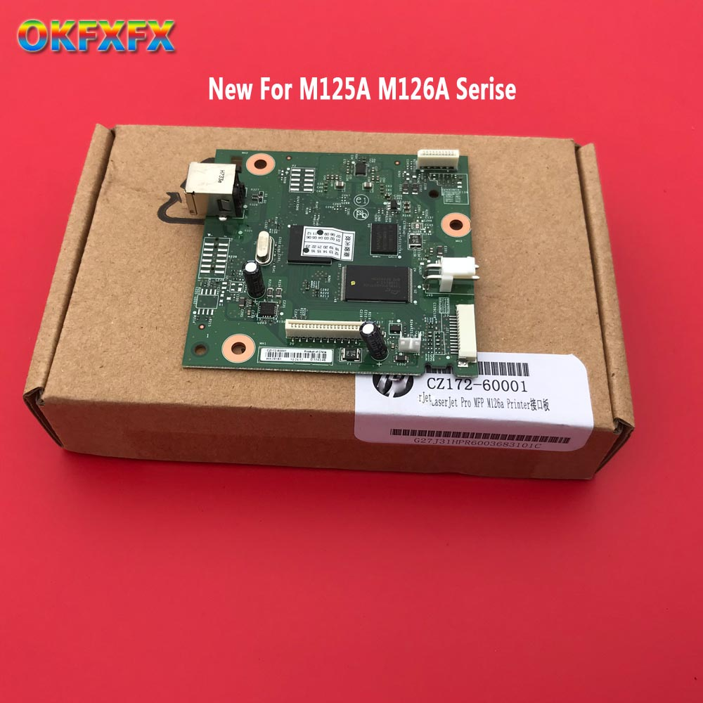 New CE831-60001 CB409-60001 CZ172-60001 Formatter Board For Hp M1132 M1132NFP 1132 M1130 M125A M125 125A 1018 1020 MainBoard