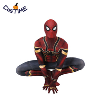Avenger 2018 Infinity War Spider Man Costume Homecoming Iron Spiderman Cosplay Outfit Kids Adult 3D Print Spandex Zentai Suit