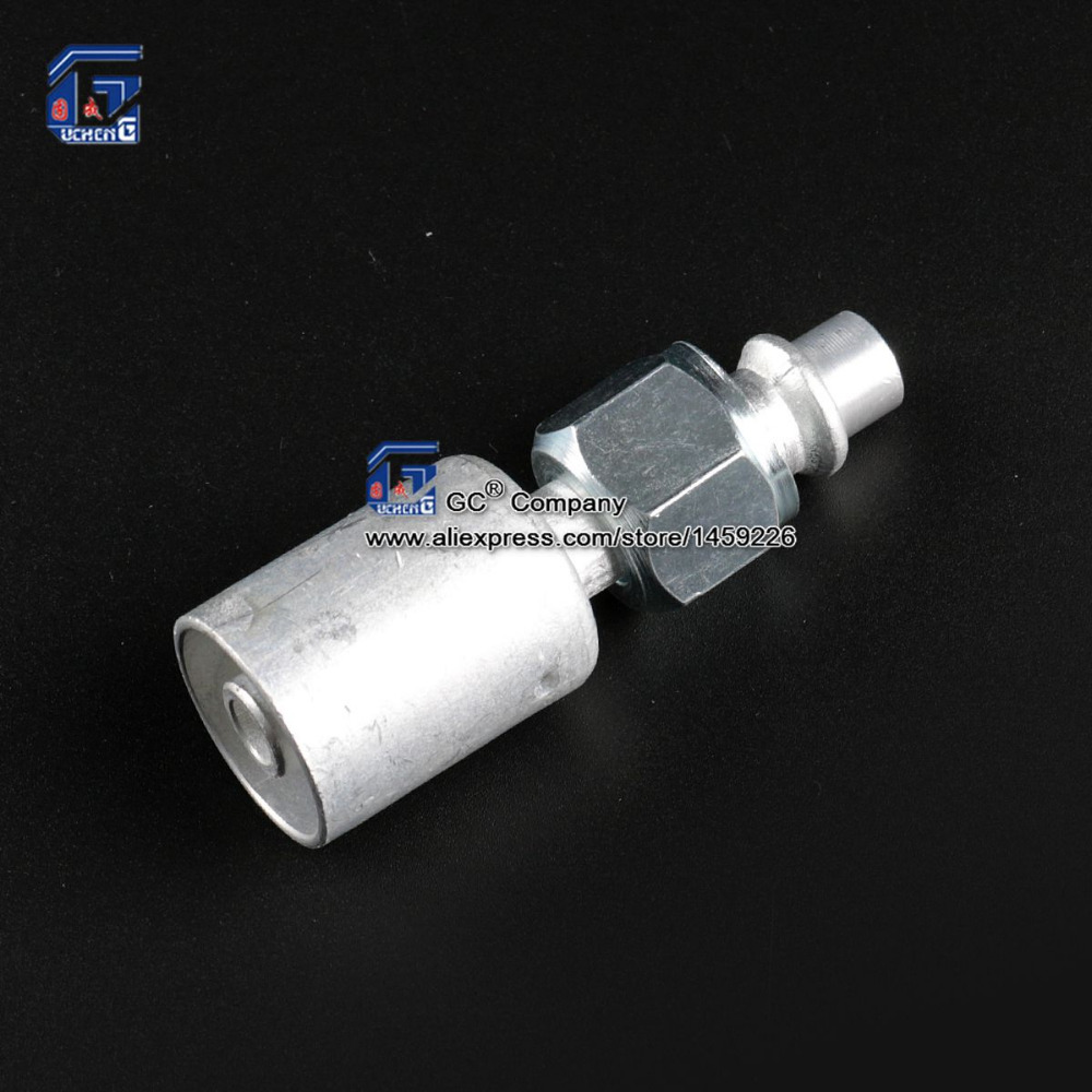 Air Conditioning Beadlock A//C Fitting Female 90 Degree #8 High Pressure Port AC