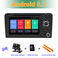 Android 8.1 Car DVD Stereo Player for Audi A3 S3 RS3 2003 2011 with WiFi BT GPS Radio