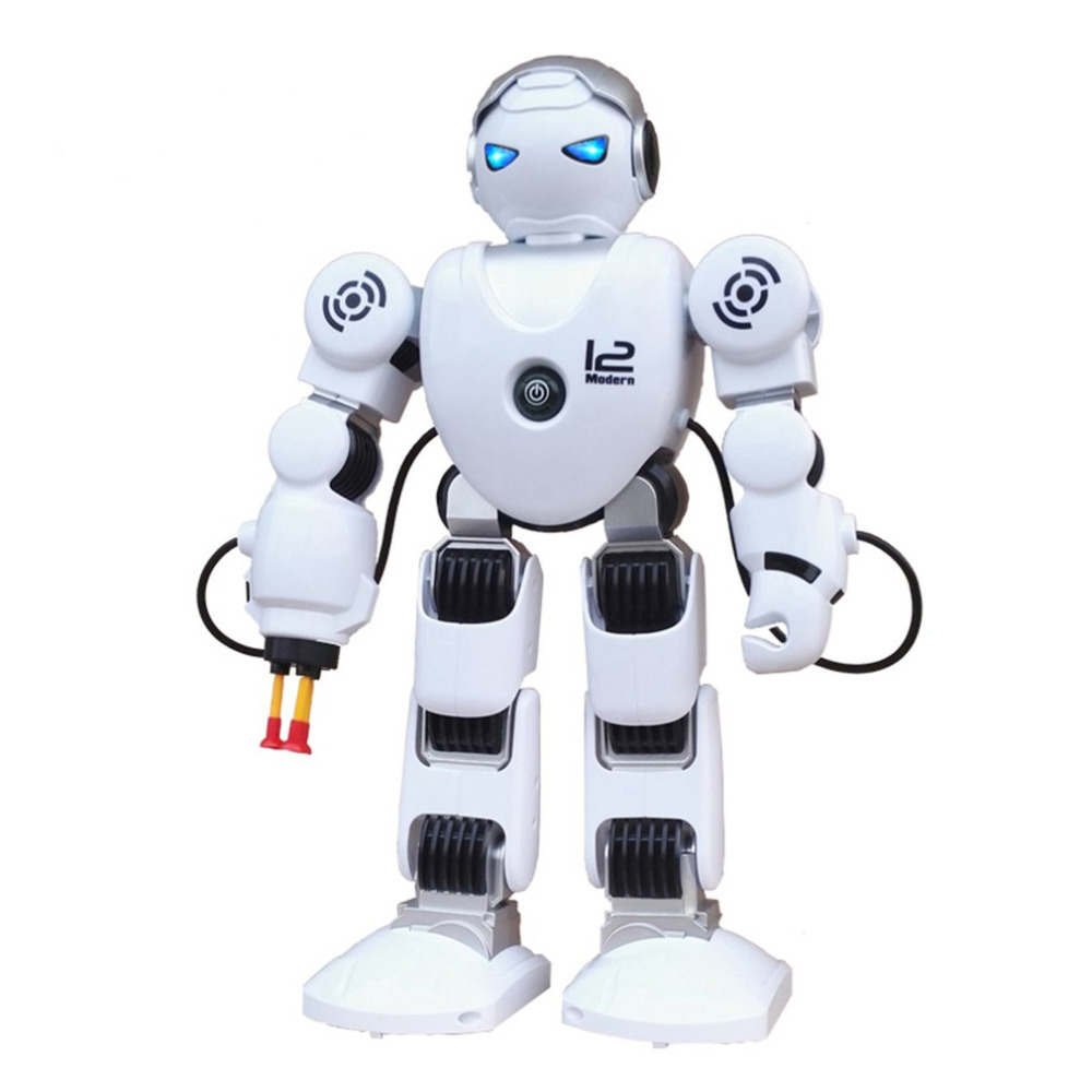 Intelligent Remote Control Robot Children Singing Dancing Infrared Electric Shooting Fighting Defentor Robot Children Toys Gift intelligent wireless remote control robot dog kids dancing walking dog