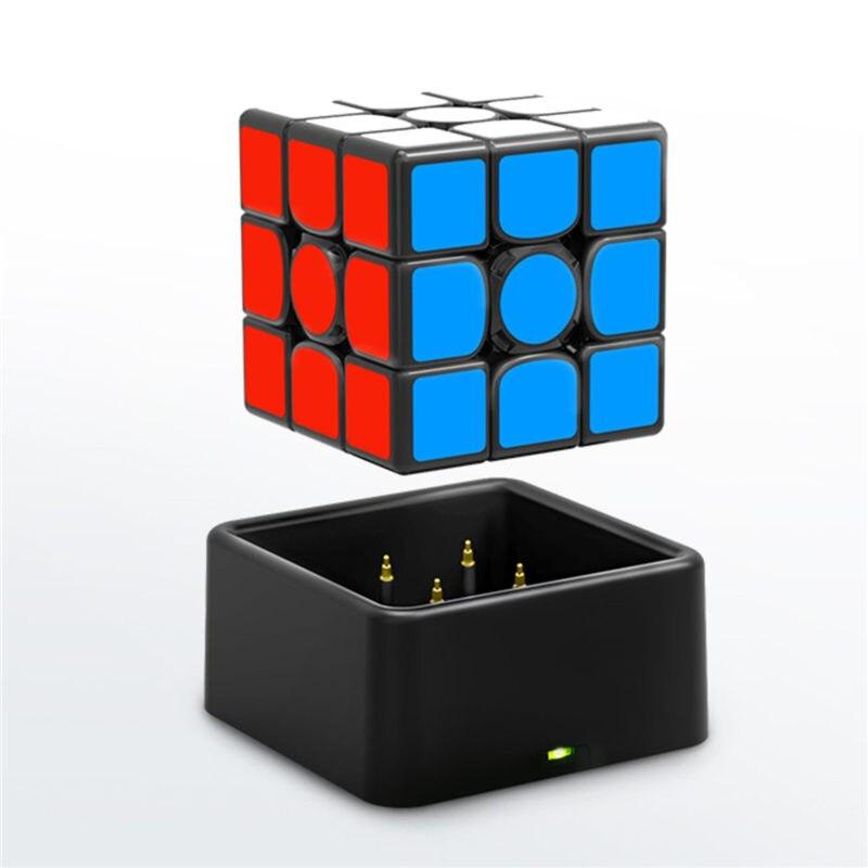 Nouveau GAN356 i magnétique magique vitesse Cube professionnel sans bâton gan356i aimants en ligne compétition Cubes GAN 356 i Cubo Magico - 3