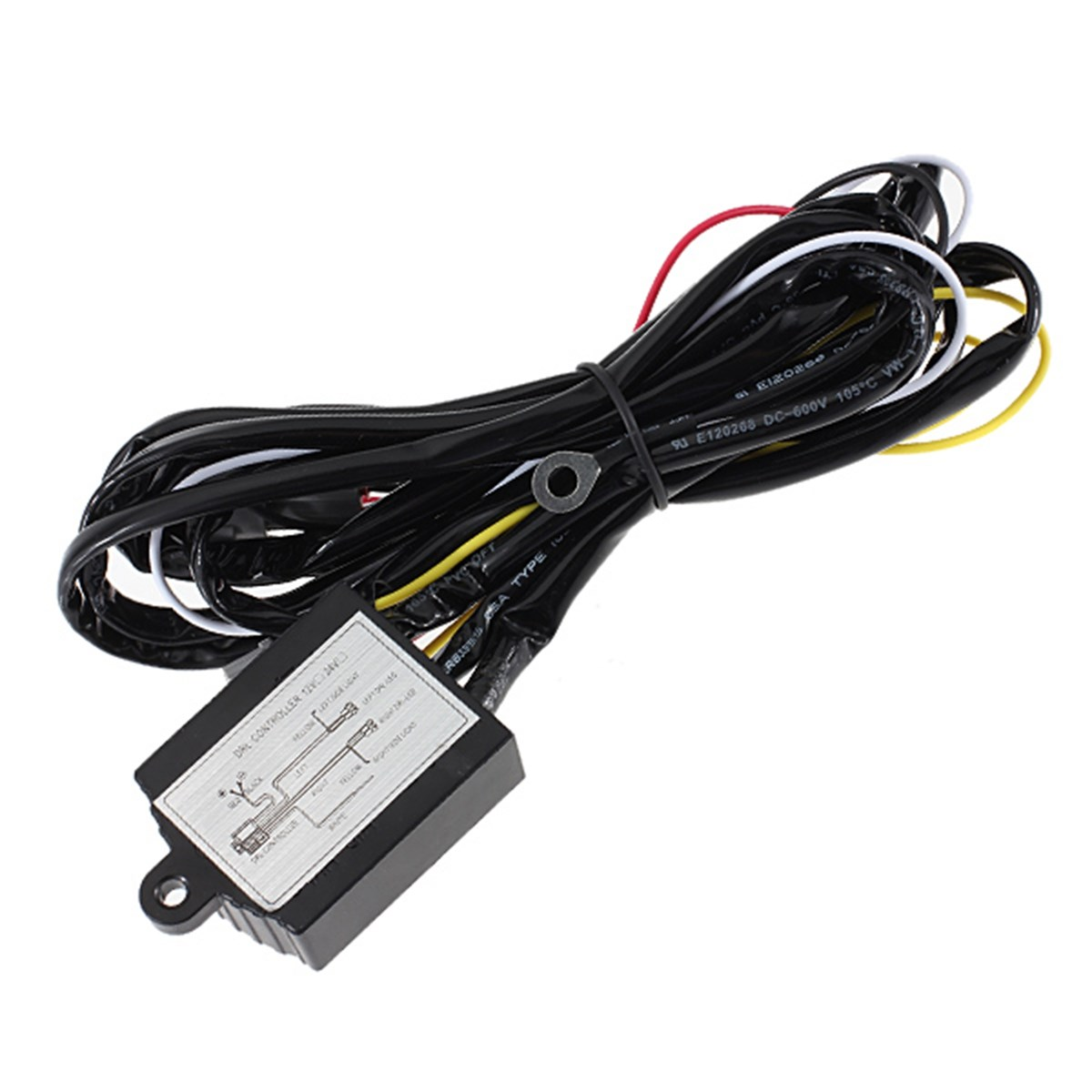 Drl Led Daytime Running Light Relay Harness Automatic On Off Control Automotive Ignition Switches Wiring Harnesses And Controllers Switch 12v Warning Lights In Car Relays From Automobiles Motorcycles