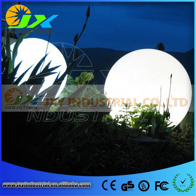 LED Plastic rgbw ball/ led Garden Courtyard Pool ball