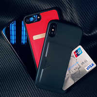 Case For iPhone XS Max XR X 8 7 6s Plus 5SE PU Leather TPU Soft Wallet Credit Card Slot Back Cover Protective Mobile Phone Bag