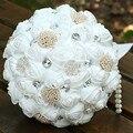 Свадебный Букет Невесты Свадебный Букет Свадьба Цветок Искусственный Цветок Роза Кристалл Букет Де Mariage SA937