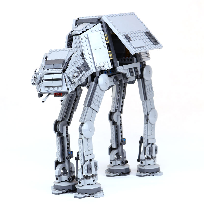 где купить Lepin 05051 Star Series Toy Wars Force Awaken The AT Transpotation AT Armored Robot 75054 Building Blocks Bricks legoinglys Toys дешево