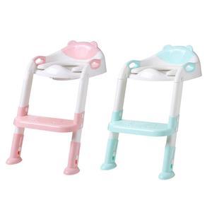 للطي الطفل قعادة الرضع الاطفال المرحاض مقعد تدريب مع قابل للتعديل سلم المحمولة مبولة قعادة مقعد تدريب s للأطفال