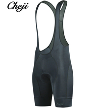 CHEJI Men Bicycle Bib Shorts Cycling GEL Padded Shockproof MTB Road Bike