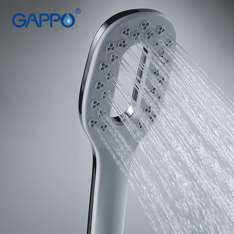 Gappo Bathroom hand shower bath shower shower massage rainfall SPA ...