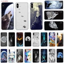 Lavaza white wolf art Bozkurt Nefesi Hard Phone Case for Apple iPhone 6 6s 7 8 Plus X 5 5S SE XS Max XR Cover
