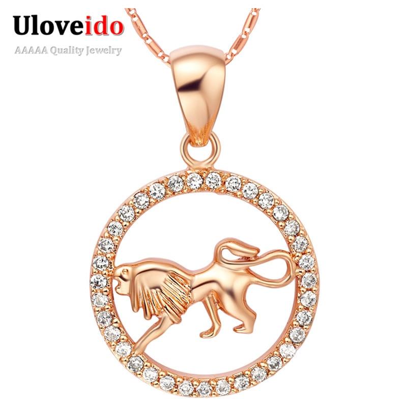 Aliexpress.com : Buy Uloveido 12 Constellations Rose Gold ...
