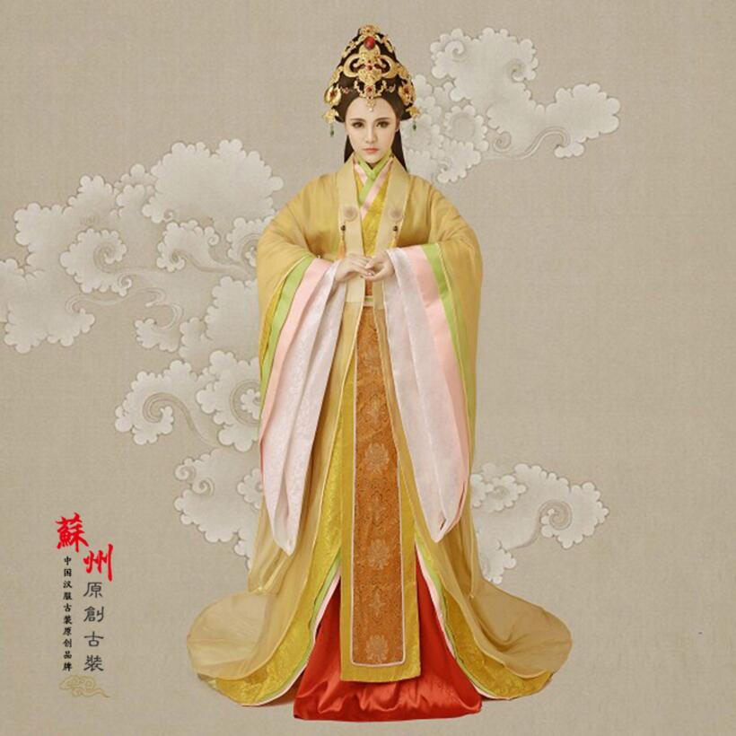 Hot fashion the Tang dynasty for fairy princess clothes Chinese ancient costume film television Chinese ancient hanfu female