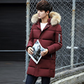 2016 Winter Long Thick Slim Fit Hooded Winter Jackets Mens Parka Men Doudoune Homme Hiver Marque Winter Coat Men
