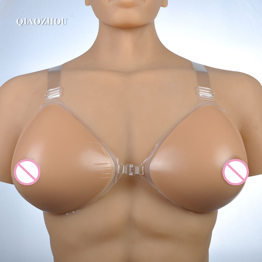 1400g big E cup Cheap Hot sale breast boobs silicone artificial breasts with bra straps wholesale and drop shipping hot big g cup artificial silicon rubber boobs false breasts for shemale crossdresser man