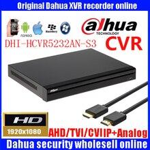 Dahua 32ch HCVR 1080P HCVR5232AN-S3 Support HDCVI/CVBS video inputs Video recorder Max 64Mbps Incoming Bandwidth