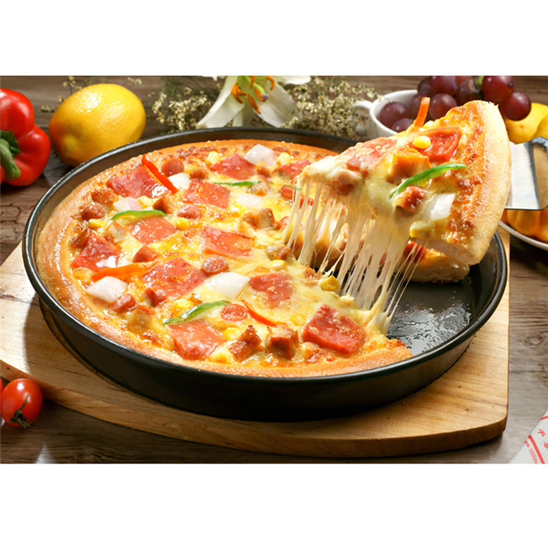 9 inches DIY Pizza Cake Molds Carbon Steel Nonstick Cake Mold Household Round Baking Tools  Kitchen Bakery Supplies