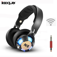 Led Light Gaming Wireless Headphones Bluetooth Wired Headset 3.5mm Headband Headphone Bass With Microphone for Computer Phone