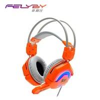 Nowa oferta GS200 redukcji szumów słuchawki słuchawki z mikrofonem Słuchawki komputer stacjonarny drgań bas gra light PC gamers