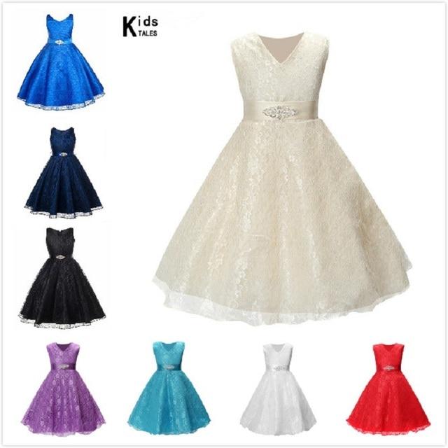 Mädchen Kleid Bebe Kinder Kleidung Hochzeit Mädchen Kleider ersten ...