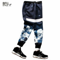 New Basketball Brand Plus Size Men Pants Slim Fit Sport Pants Casual 3D Printed Mens Joggers