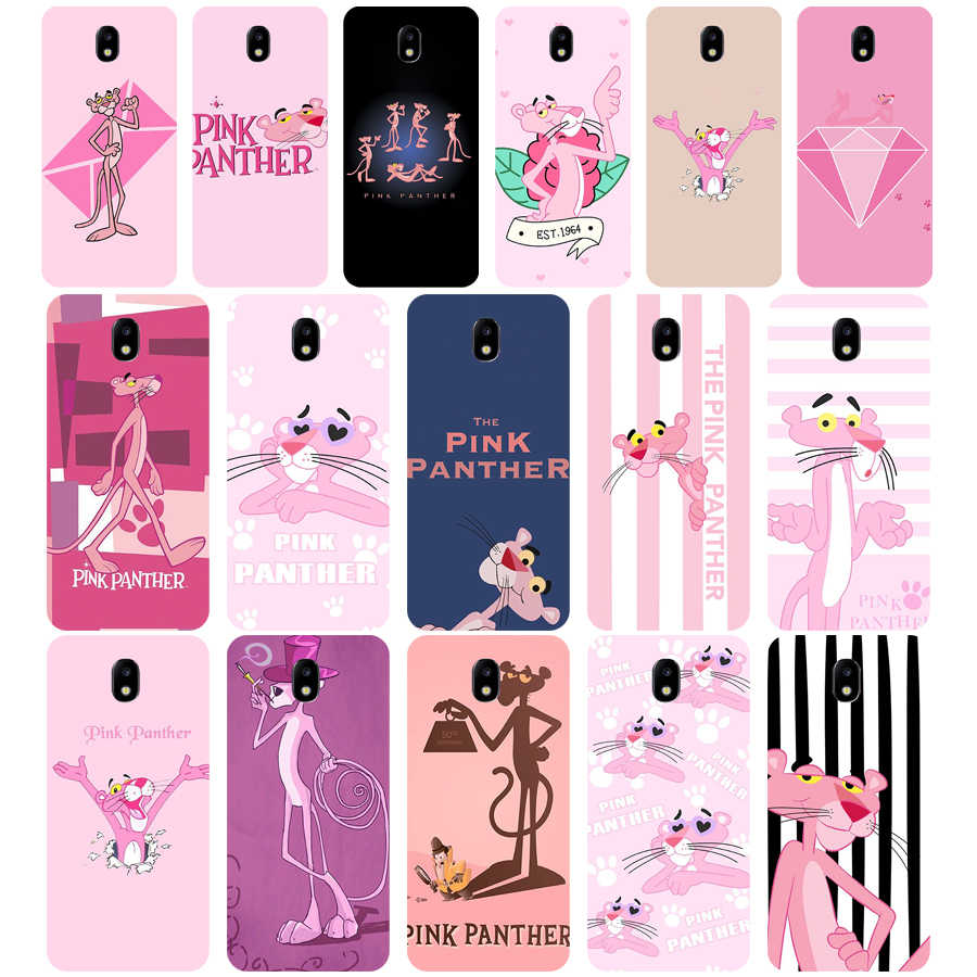 270WE The pink panther Soft Silicone Tpu Cover phone Case for Samsung j3 j5 j7 2015 2016 2017 j330 j2 j4 prime j4 j6 Plus 2018