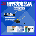 Reusable security tag eas 8.2Mhz with ajustable lanyard for milk tin/can shoplifting prevention 500pcs