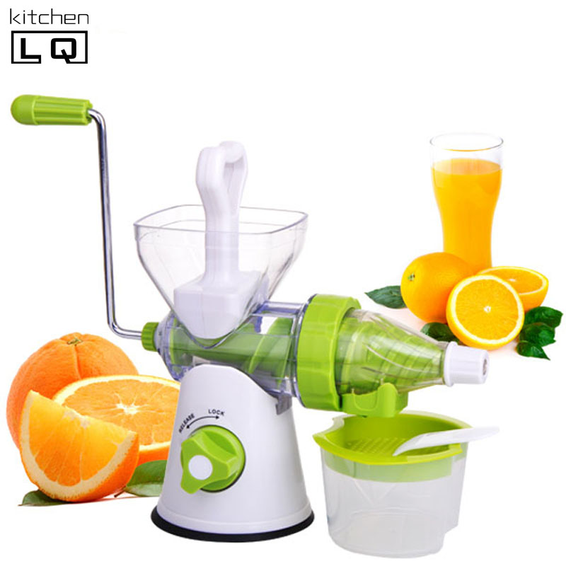 Kitchen Living Slow Juicer Manual : Aliexpress.com : Buy juicer machine manual baby food slow juicer extractor hand fruit vegetable ...
