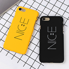 Nice Yellow Phone Case for iPhone 8 7 6 Plus X XR XS Max