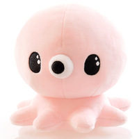 K Drama Legend Of The Blue Sea Kids Lovely Plush Animals Toy 17cm Pink Blue Octopus