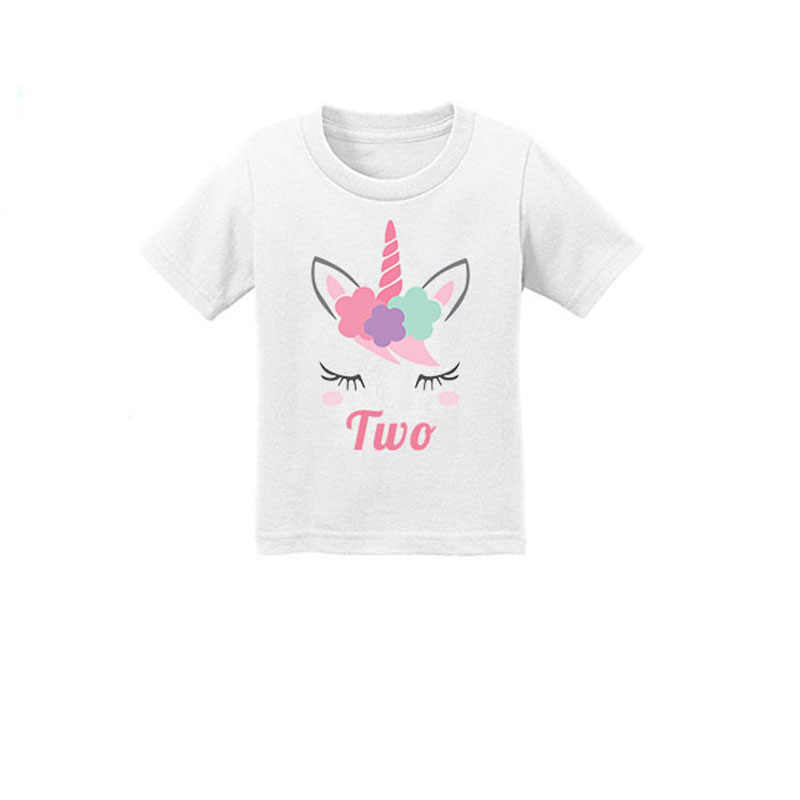Kids Tshirt Boys Girls Cartoon For 1st Birthday Baby Clothes From New Born To 12