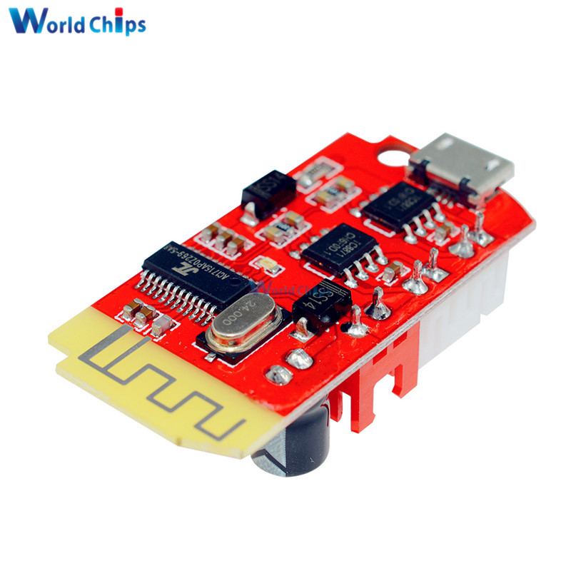 Image 4 - DC 3.7V 5V 3W Digital Audio Amplifier Board Double Dual Plate DIY Bluetooth Speaker Modification Sound Music Module Micro USB-in Integrated Circuits from Electronic Components & Supplies